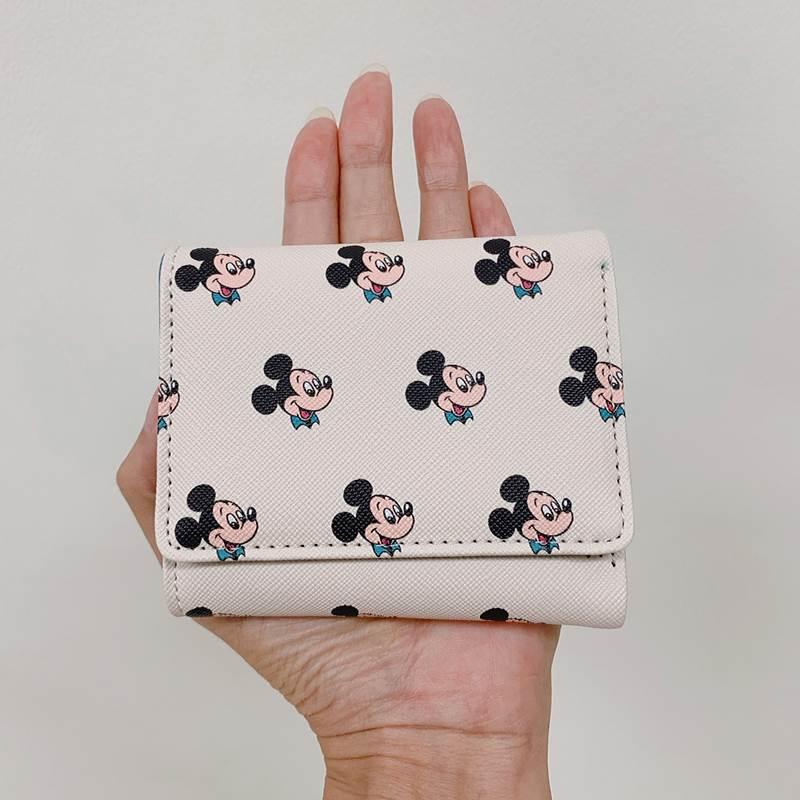 ミニ財布 三つ折り財布 ディズニー