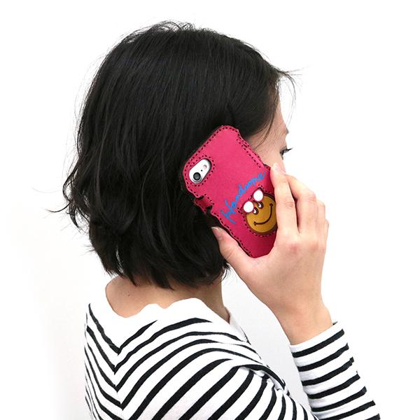 iPhoneケース スマホカバー レザー アコモデ
