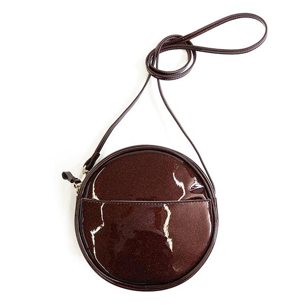 ショルダーバッグ アコモデ 円形